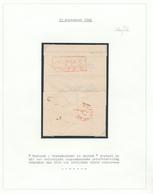 018/27 - ALLEMAGNE / NEDERLAND  - Lettre Précurseur ELBERFELD 1841 Vers AMSTERDAM - Marque Duitsch Grensk.te ARNHEM - Pays-Bas