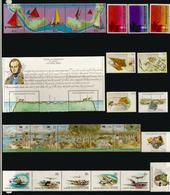 Lot De 26 Timbres Neufs  ILES COCOS En Séries Complètes, (including Charles Darwin Visit 1832,etc) Côte  40,00 € EUR - Timbres