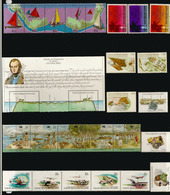 Lot De 26 Timbres Neufs  ILES COCOS En Séries Complètes, (including Charles Darwin Visit 1832,etc) Côte  40,00 € EUR - Cocos (Keeling) Islands