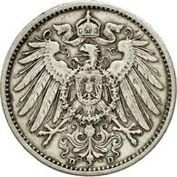 Monnaie, GERMANY - EMPIRE, Wilhelm II, Mark, 1909, Munich, TTB, Argent, KM:14 - [ 2] 1871-1918: Deutsches Kaiserreich