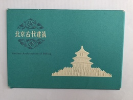 AK   CHINA  ANCIENT ARCHITECTURE  OF  PEKING   ALBUM WITH 10 POSTCARDS - China (Hongkong)