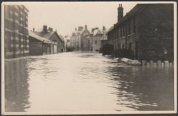A Flooded Street In Swanage, Dorset, 1935 - RP Postcard - Swanage