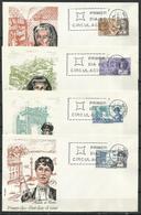 España. SPD. 1968. Personajes Españoles. Mujeres. - FDC