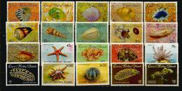 Coquillages & Faune Marine Des ILES COCOS.  20 Timbres Neufs ** En Séries Complètes.  Côte  50,00  € EUR - Cocos (Keeling) Islands