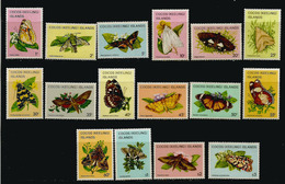 Papillons Des ILES COCOS. Océan Indien,   16 Timbres Neufs ** En Séries Complètes.  Côte  35,00  € EUR - Cocos (Keeling) Islands