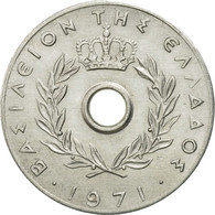 Monnaie, Grèce, 20 Lepta, 1971, TTB, Aluminium, KM:79 - Grèce