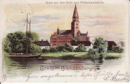 25046Brandenburg, Gruss Aus 1901 - Brandenburg