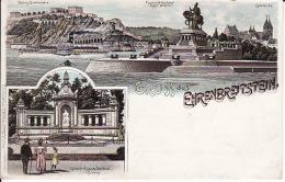 250410Ehrenbreitstein, Gruss Aus 1897 - Koblenz