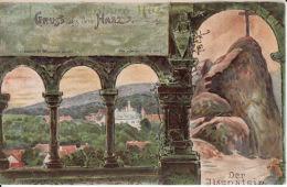 250423Gruss Aus Dem Harz, Der Ilsenstein - Allemagne