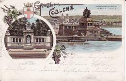 250462Gruss Aus Coblenz 1898 - Koblenz