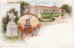 250464Gruss Aus Potsdam, Schloss Sanssouci - Potsdam