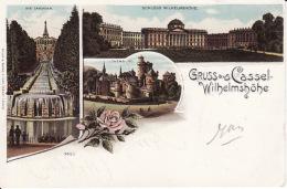 250491Gruss Aus Cassel, Schloss Wilhelmshohe - Kassel
