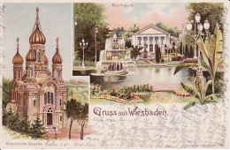 2504110Gruss Aus Wiesbaden, 1900 - Wiesbaden