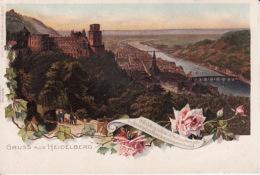 2504115Gruss Aus Heidelberg, (sehen Ecken) - Heidelberg