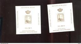Belgie Erinno E69 E70 OCB 9.50€ RR Medaillon Leopold I Monarchie - Erinnophilie