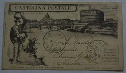 Cartolina Postale Ricordo Di Roma Anno 1929.(AK40 - Roma