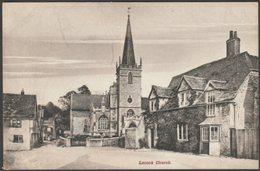 Lacock Church, Wiltshire, C.1905-10 - Woodward Postcard - England