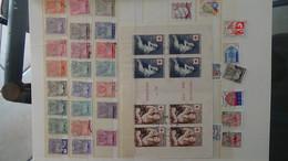 Collection France Oblitéré Dont Carnets Croix Rouge De 1954 + CA. PORT OFFERT DES 50 EUROS D'ACHATS. Voir Commentaires - Briefmarken
