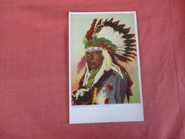 Native Americans  Big Man    Ref 3025 - Indiens De L'Amerique Du Nord