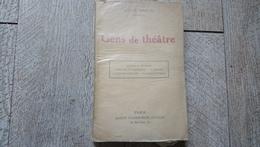 Gens De Théâtre De Octave Mirbeau Censure Auteurs Comédiens Théâtre Populaire 1924 - Theatre