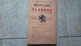 Mercure De Flandres Tribune Pensée Franco Allemande 1928 Berck Dehorne Boylesve - Theatre