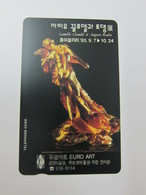 Private Issued Autelca Phonecard,Sculpture By Rodin,mint,issued In 1993 - Korea, South