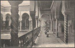 Galerie Mauresque, L'Archevêché, Alger, C.1910 - Lévy CPA LL122 - Algiers
