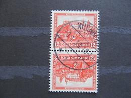 SK16) DR-Zus. Druck SK16, KW 25€  (gestempelt/ʘ/used) - Se-Tenant