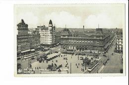 CPA - Cartes Postale - Belgique -Bruxelles -Place Rogier Avec La Gare Du Nord- S1733 - Marktpleinen, Pleinen