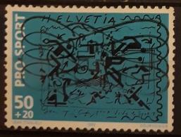 SUIZA 1992 Sport Hilfe. USADO - USED. - Suiza