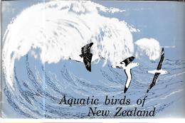 GF617 - ALBUM COLLECTEUR GREGGS - AQUATIC BIRDS OF NEW ZEALAND - Albums & Catalogues