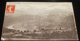 25 - Besançon - Vue Générale Des Forts Prise De Montfaucon    ------- 467 - Besancon