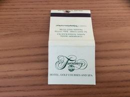 "Pochette D'allumettes ECOSSE ""TURNBERRY HOTEL - Ayrshire"" (phare) - Zündholzschachteln"