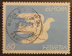 SUIZA 1995 EUROPA Stamps - Peace And Freedom. USADO - USED. - Suiza