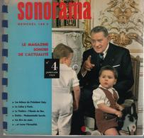 Sonorama Magazine N° 4 Janvier 1959 - Special Formats