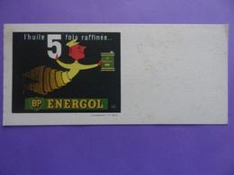 ENERGOL British Petroleum (BP) Huile Raffinée Illustré Par Hervé MORVAN Impressions F.G. Paris Automobile - Öl & Benzin