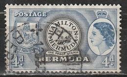 "Bermuda - 1953 ""Perot Stamp"" 1st Stamp Of Bermuda - Capi Di Stato   Corone E Diademi   Donne   Francobolli - Bermuda"