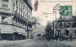 CPA SAINT MANDE - GRANDE RUE - CARREFOUR DE LA PELOUSE - Saint Mande