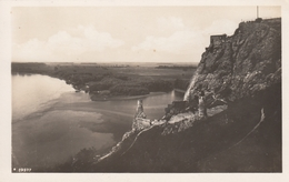 AK - DEVIN-BRATISLAVA  (Theben A/d Donau)  - Panorama Mit Burg 1939 - Slovaquie