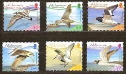Alderney Aurigny 2009 Yvertn° 352-357 *** MNH Faune Oiseaux Vogels Birds - Alderney