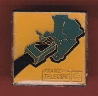53405-Pin's-France Telecom. - France Telecom