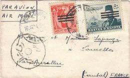 Lettre  Enveloppe - Poste Aérienne