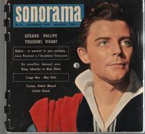 Sonorama Magazine N° 14 Décembre 1959 Gérard Philippe - Formats Spéciaux