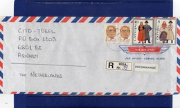 ##(DAN188) - 1993 - Registered Air Mail Cover To Holland - Lettonia