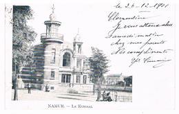 CPA Dos Non Divisé : NAMUR  Le Kursaal Près De Notre Dame - Namur