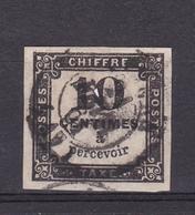 Taxe N° 2° - 1859-1955 Oblitérés