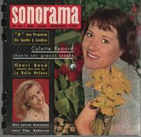 Sonorama Magazine N° 19 Mai 1960 Colette Renard Chante Ses Grands Succès - Formats Spéciaux