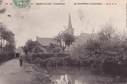 53-PRE-EN-PAIL- ENVIRONS -SAINT-CALAIS- L'ABREUVOIR- ANIMEE - Pre En Pail