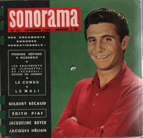 Sonorama Magazine N° 22 Septembre 1960 Gilbert Bécaud - Special Formats