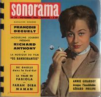Sonorama Magazine N° 24 Novembre 1960 François Deguelt / Richard Anthony - Formats Spéciaux